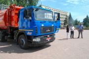 Новий сміттевоз у арсеналі міста